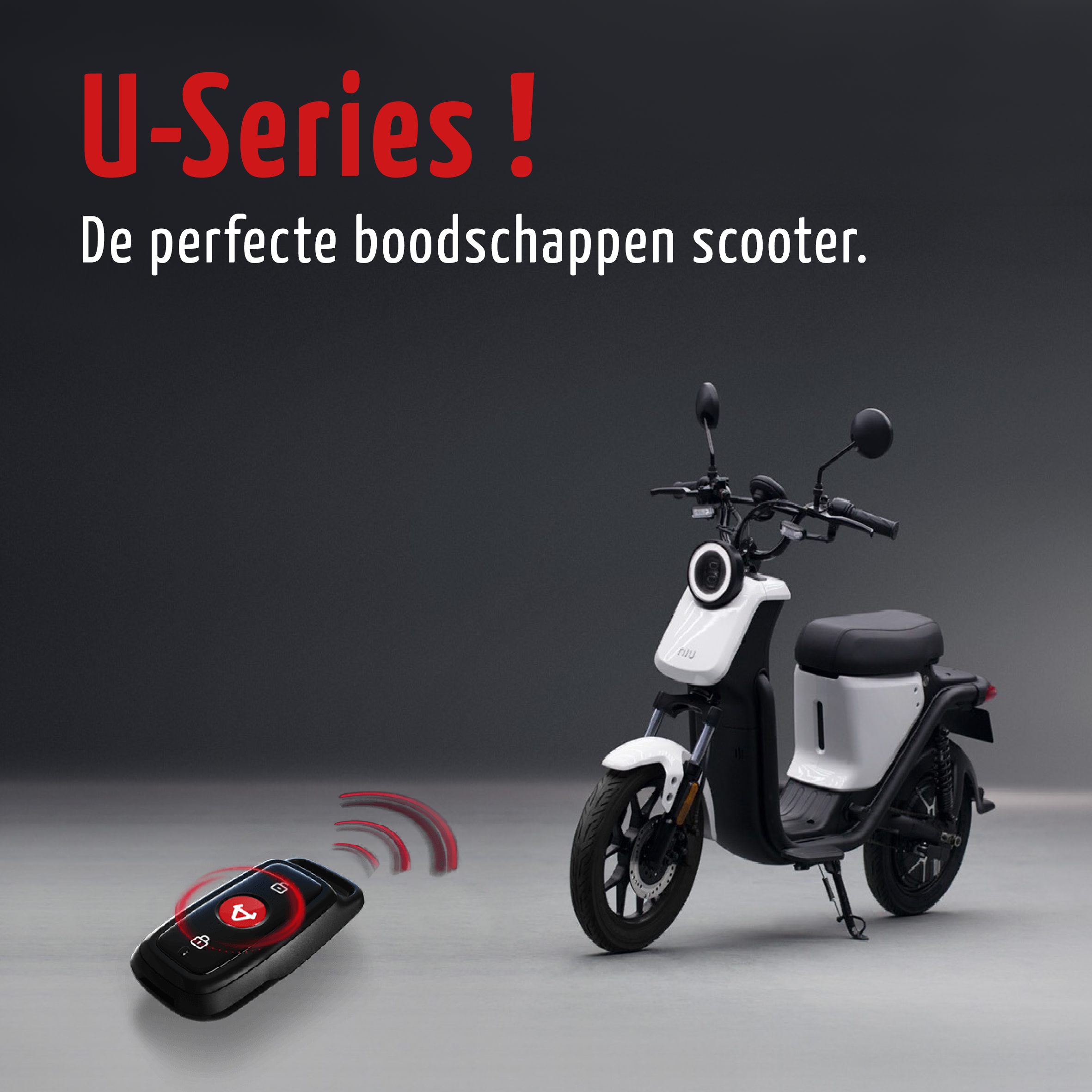 Niu U-Series, nu in onze showroom!