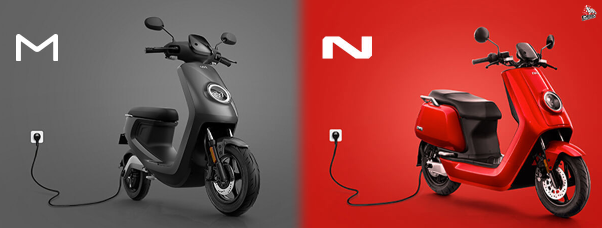 Niu N - serie scooter wit!